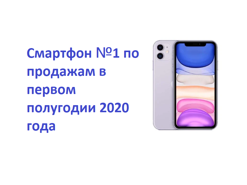 Самый продаваемый телефон 2020 года